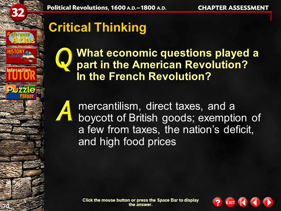69 Chapter Assessment 6 Understanding the Main Idea Why were European rulers afraid of the ideas of the French Revolution.
