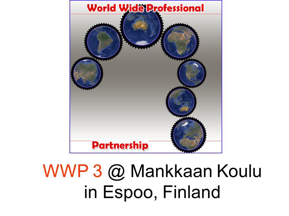 WWP 3 @ Mankkaan Koulu in Espoo, Finland