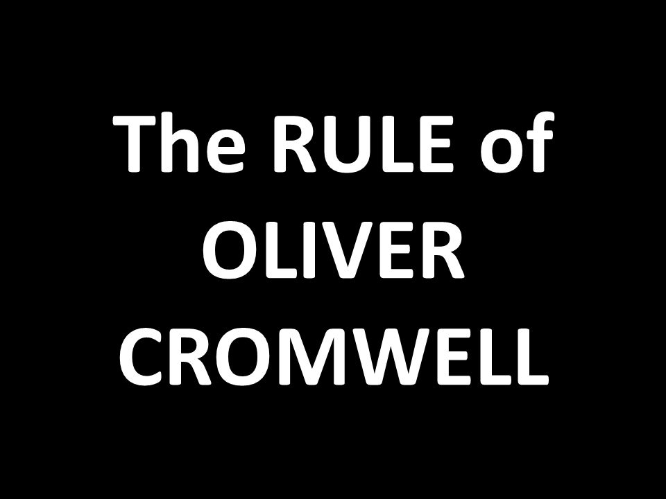 The English Civil War 1642 – 1649 Royalists / Cavaliers = loyal to King Charles Roundheads = Puritan supporters of Parliament Stalemate until Puritans discovered Oliver Cromwell.