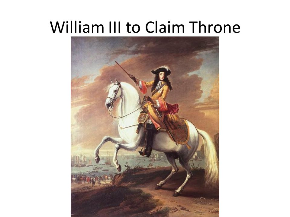 William III to Claim Throne