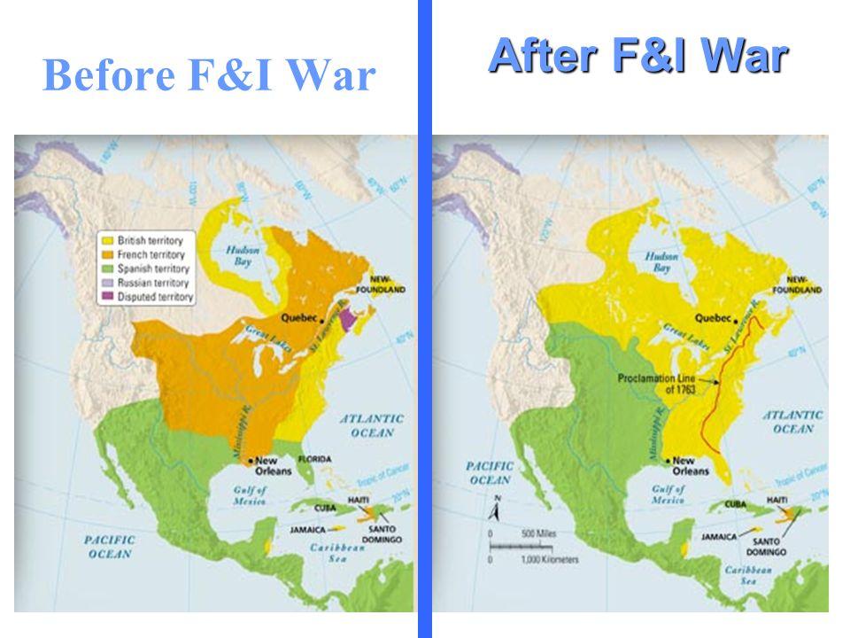 Before F&I War After F&I War