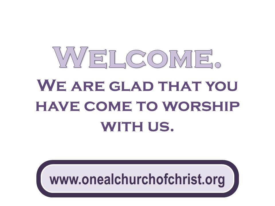 www.onealchurchofchrist.org
