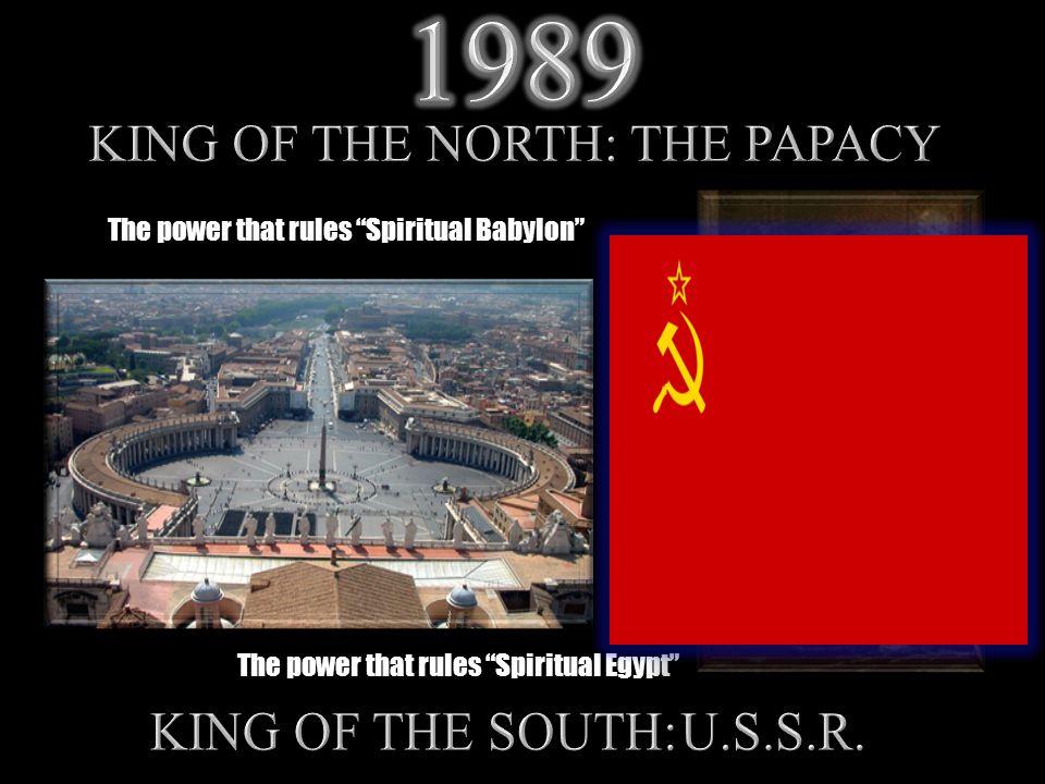 The power that rules Spiritual Babylon The power that rules Spiritual Egypt
