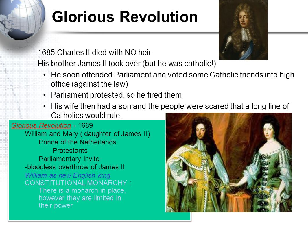 OLIVER CROMWELL'S RULE 1649 – England officially became a PURITAN state –Formed a military state –Very strict Defeated the Irish Catholics 1653- disba