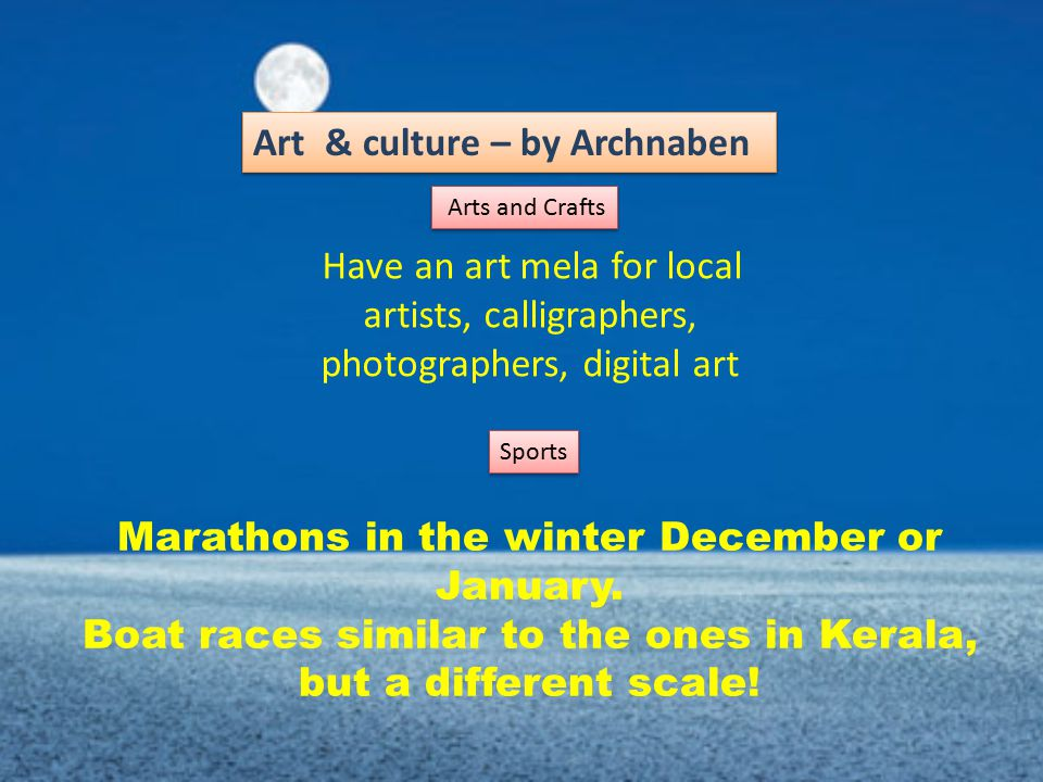Marathons in the winter December or January.