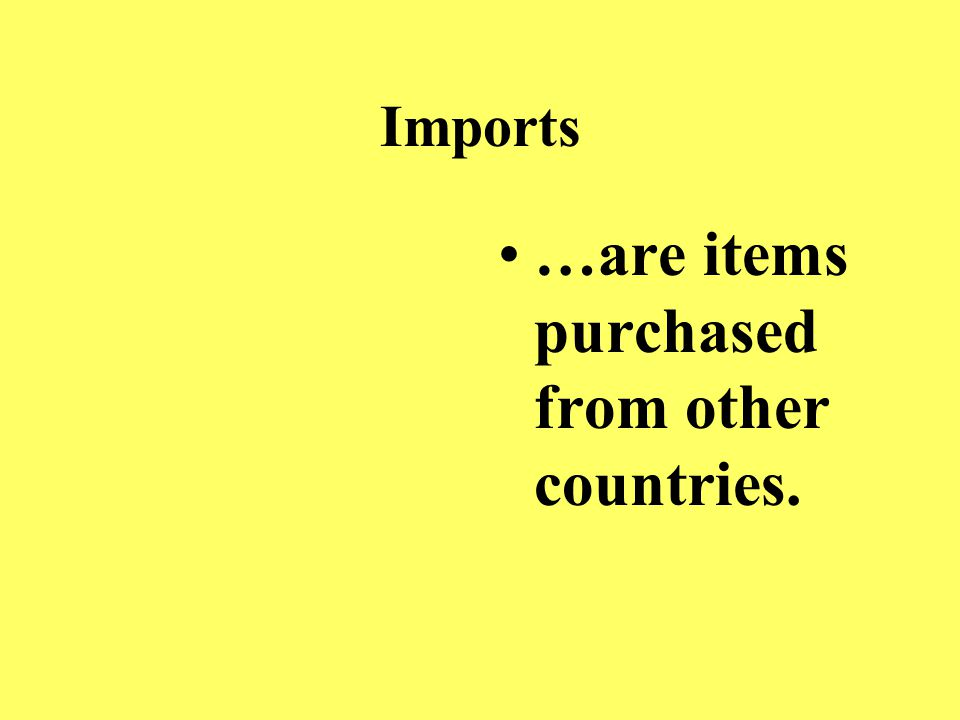 Balance of trade …is the stable relationship between a country's imports and exports.