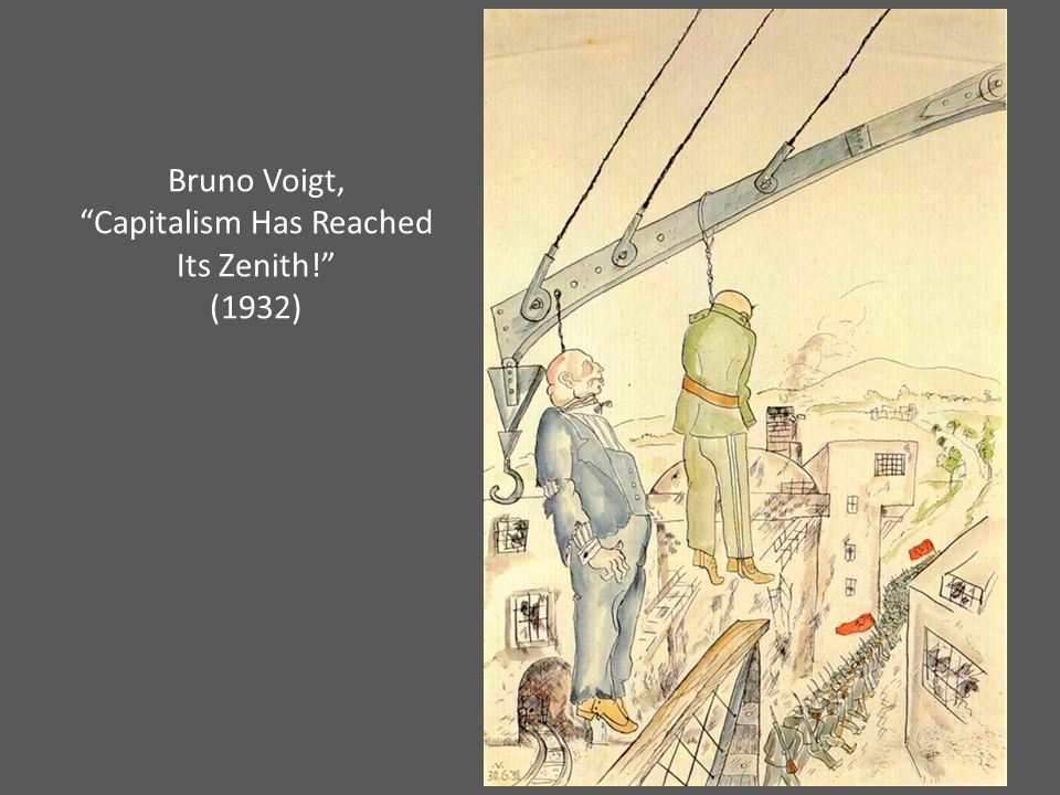 Bruno Voigt, Capitalism Has Reached Its Zenith! (1932)
