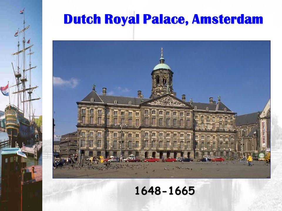 Dutch Royal Palace, Amsterdam 1648-1665