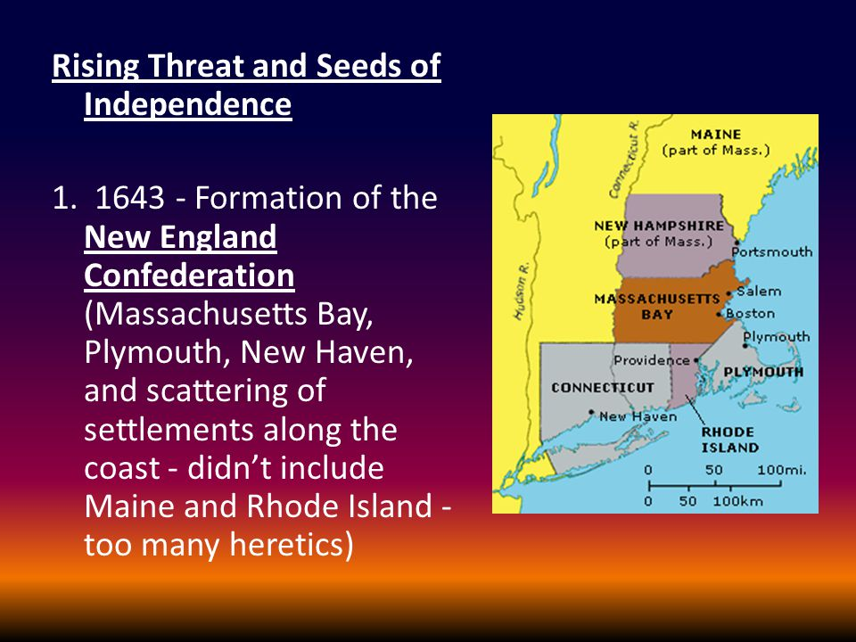 Rising Threat and Seeds of Independence 1.