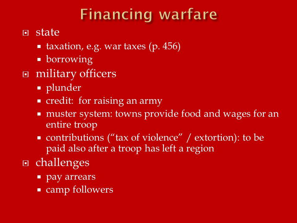  state  taxation, e.g. war taxes (p.