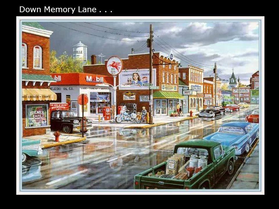 Down Memory Lane...