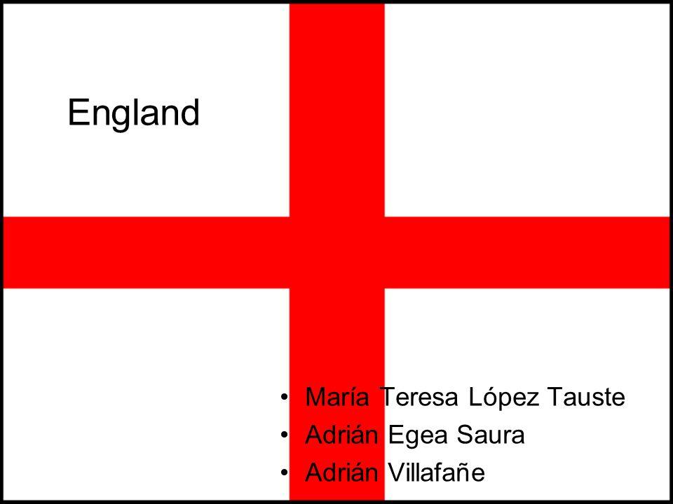 England María Teresa López Tauste Adrián Egea Saura Adrián Villafañe England