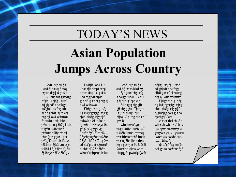 Asian Population Jumps Across Country