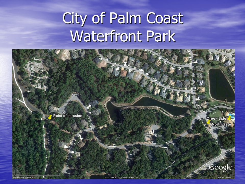City of Palm Coast Waterfront Park