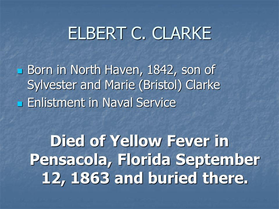 ELBERT C.