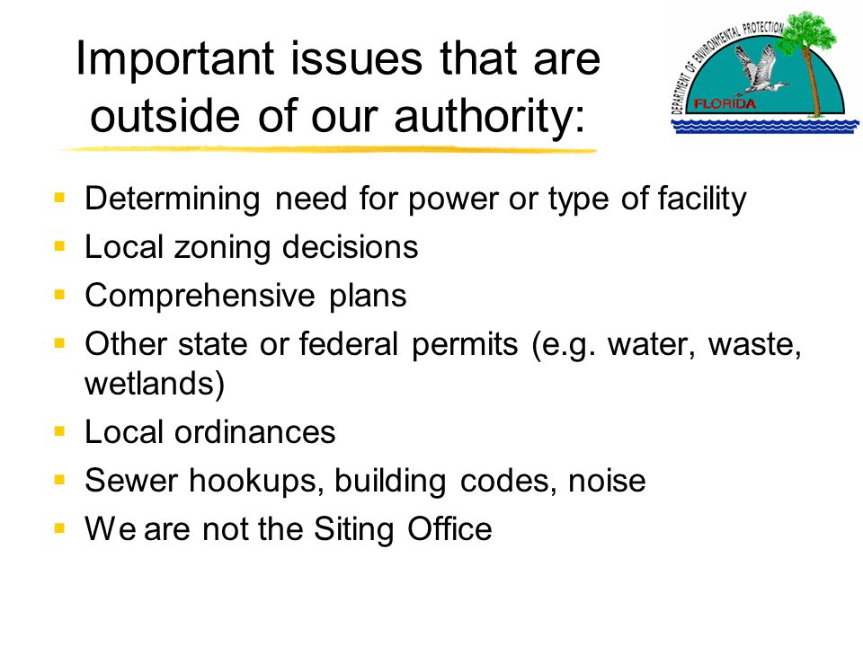 Overview of the air permitting process  Application is required for a proposed facility that will emit air pollution.