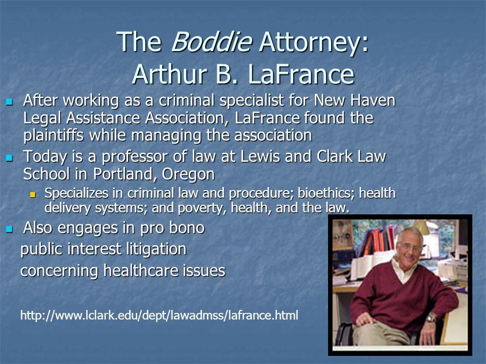 The Boddie Attorney: Arthur B.