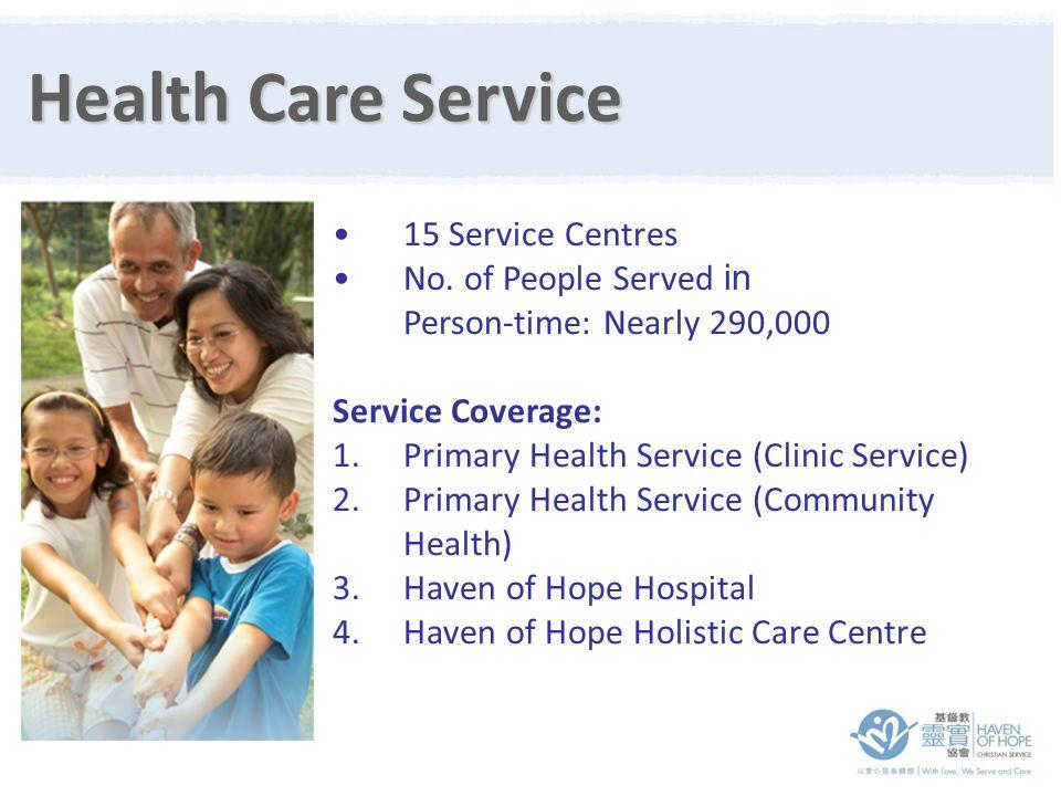 15 Service Centres No.