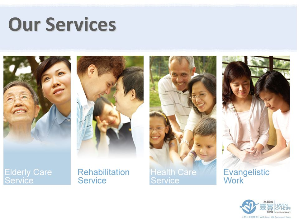 15 Integrated Community Service Centres & 4 Service Programs No.