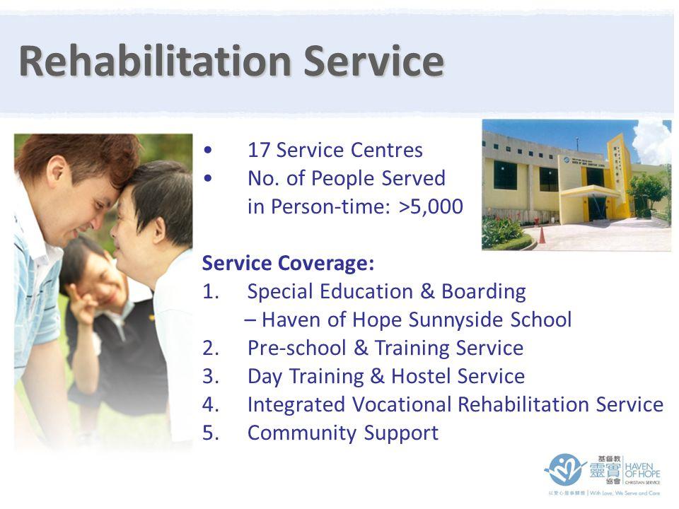 17 Service Centres No.