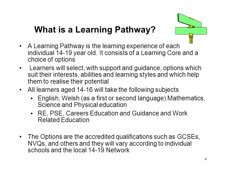 4 What is a Learning Pathway.