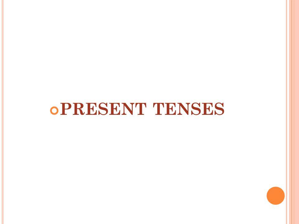 FUTURE TENSES IMPERATIVES