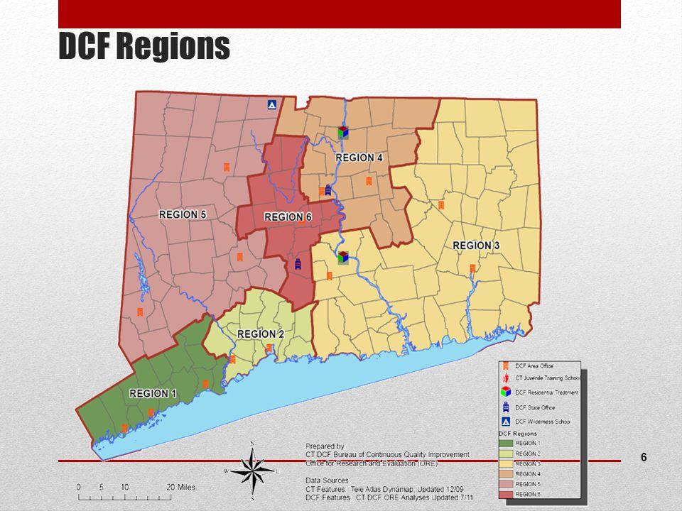 DCF Regions 6