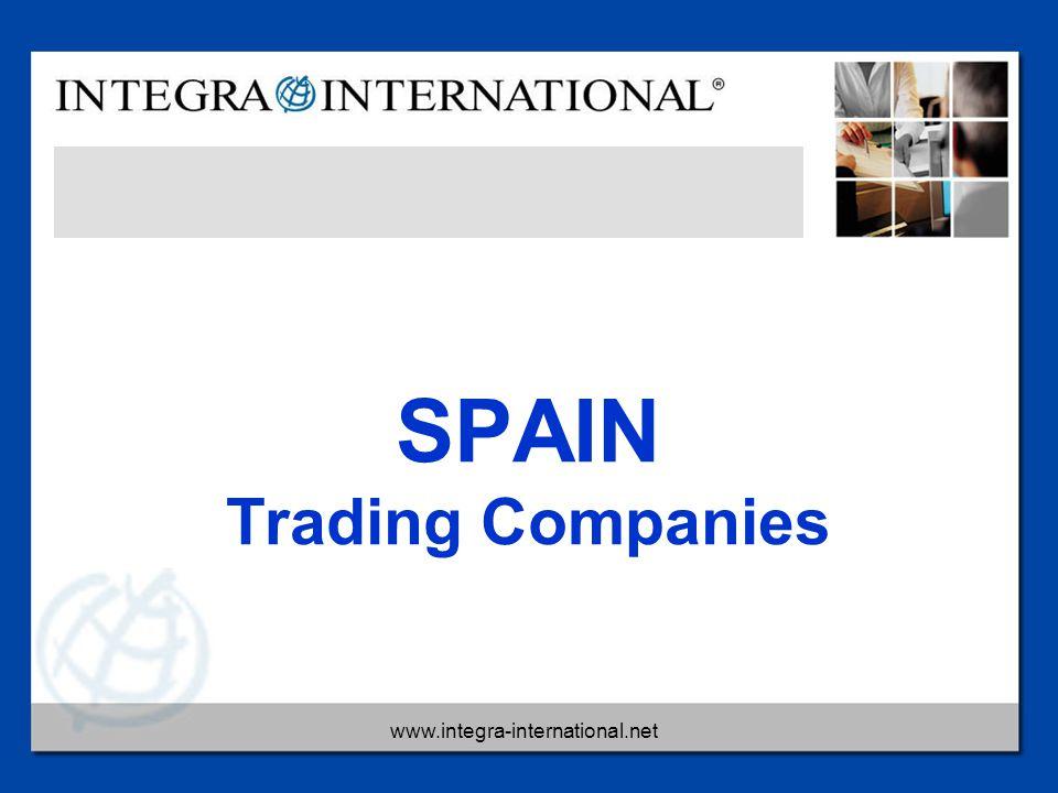 www.integra-international.net SPAIN Trading Companies