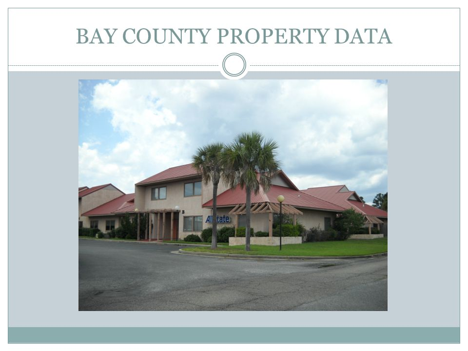 ESTIMATED 2011 PROPERTY TAX REVENUE BY TAXING AUTHORITY Taxing Authority2011 Millage RateTaxable Property Value Estimated 2011 Revenue County Commission3.65 14,325,374,403 $ 52,287,617 Callaway2.7324 504,285,994 $ 1,377,911 Lynn Haven3.0887 1,016,225,637 $ 3,138,816 Mexico Beach4.73 362,789,309 $ 1,715,993 Parker0 199,863,220 $ - Panama City Beach0 3,633,988,101 $ - Panama City3.9095 2,175,158,484 $ 8,503,782 City of Springfield0 196,260,147 $ - PC DIB6.75 60,563,508 $ 408,804 County Mosquito0.1525 6,068,463,791 $ 925,441 PCB Mosquito Control.1438 7,318,263,357 $ 1,052,366 School Discretionary 7.118 15,482,775,446 $ 110,206,396 Fire Districts1.000 5,766,987,829 $ 5,766,988 NFWWMD.0400 14,662,850,736 $ 586,514