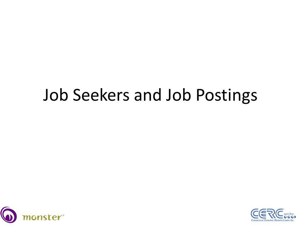 Job Seekers and Job Postings