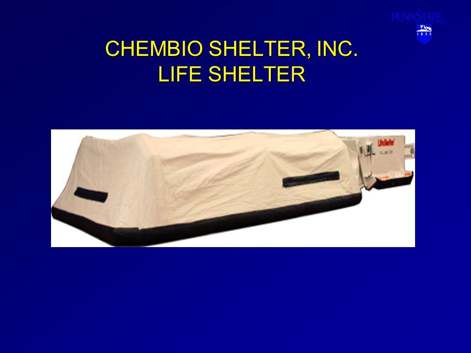 CHEMBIO SHELTER, INC. LIFE SHELTER