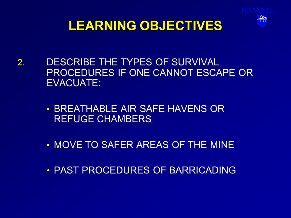 LEARNING OBJECTIVES 3.3.