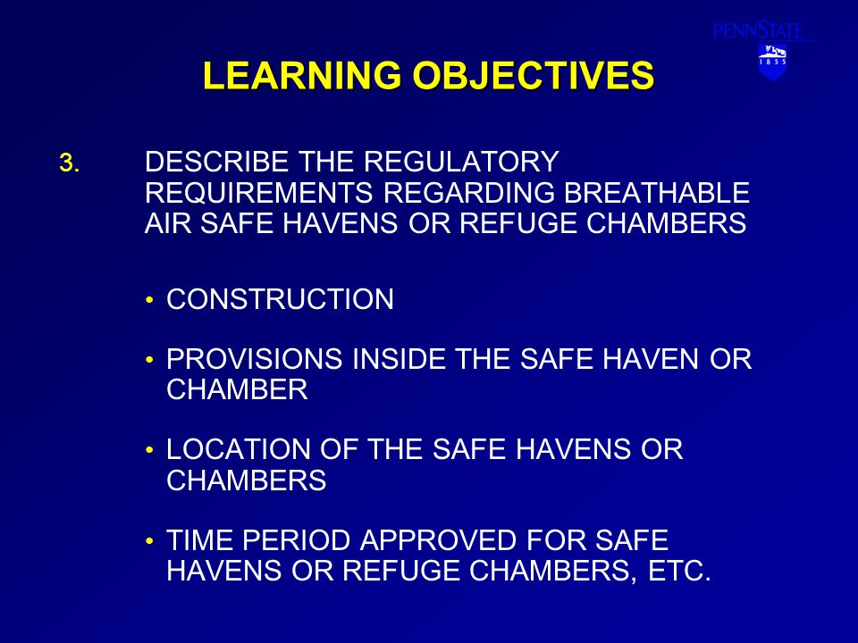 LEARNING OBJECTIVES 4.4.