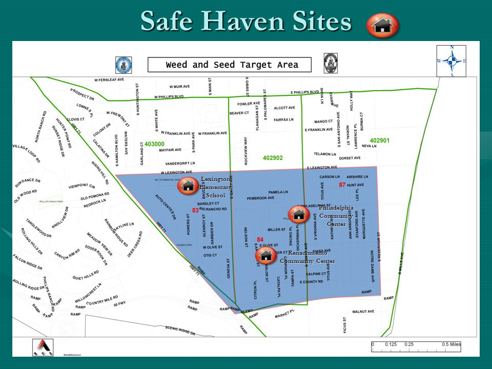 Safe Haven Sites Lexington Elementary School Philadelphia Community Center Renacimiento Community Center