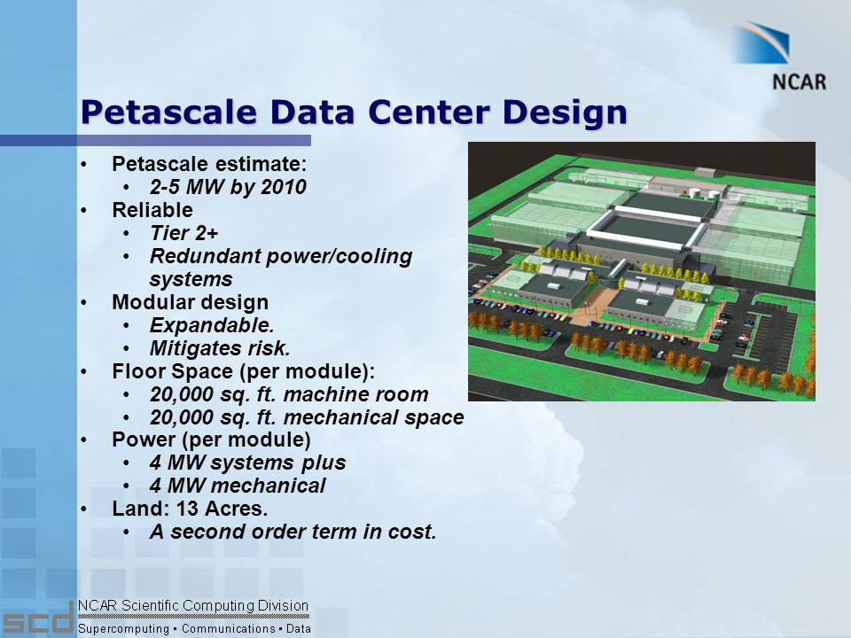 Petascale TCO: Fuel Efficiency Top 20 systems Based on processor power rating only Blue Gene/L: How do we use this stuff