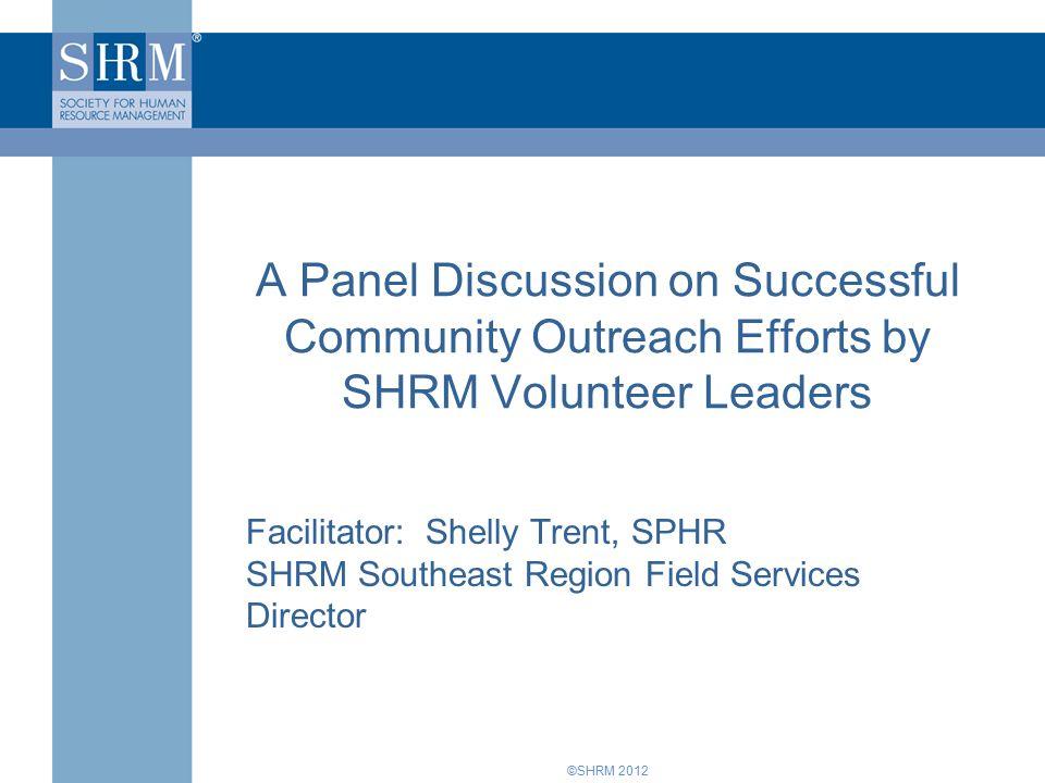 ©SHRM 2012 Workshop Presentations