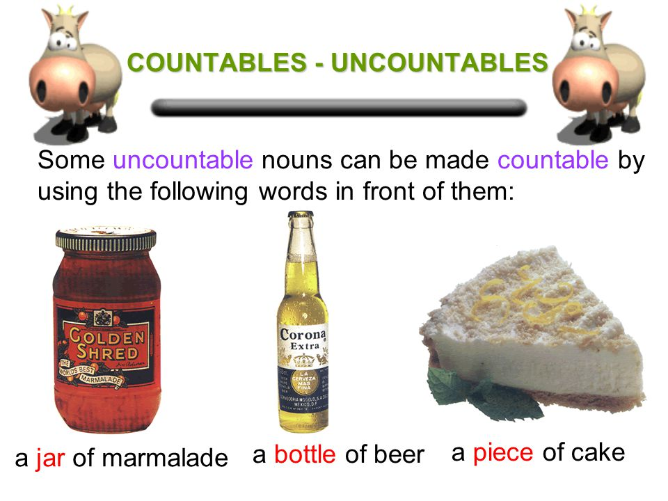 We use We also use some with countable nouns but only in the plural. some cheesesome bananas some with uncountable nouns and not a/an.