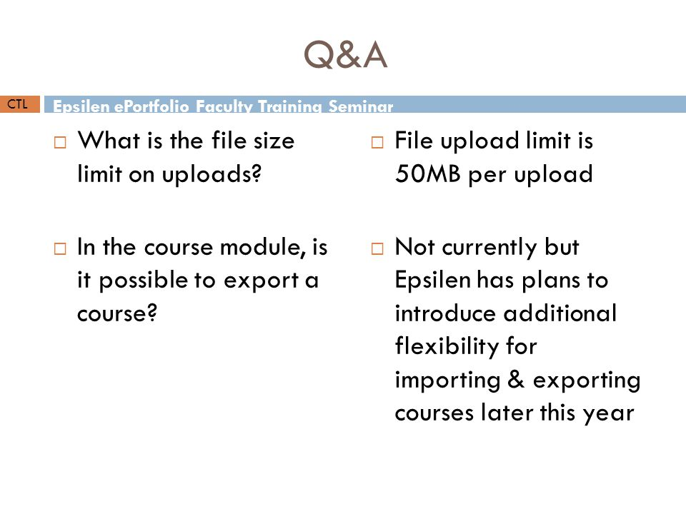  What is the file size limit on uploads.
