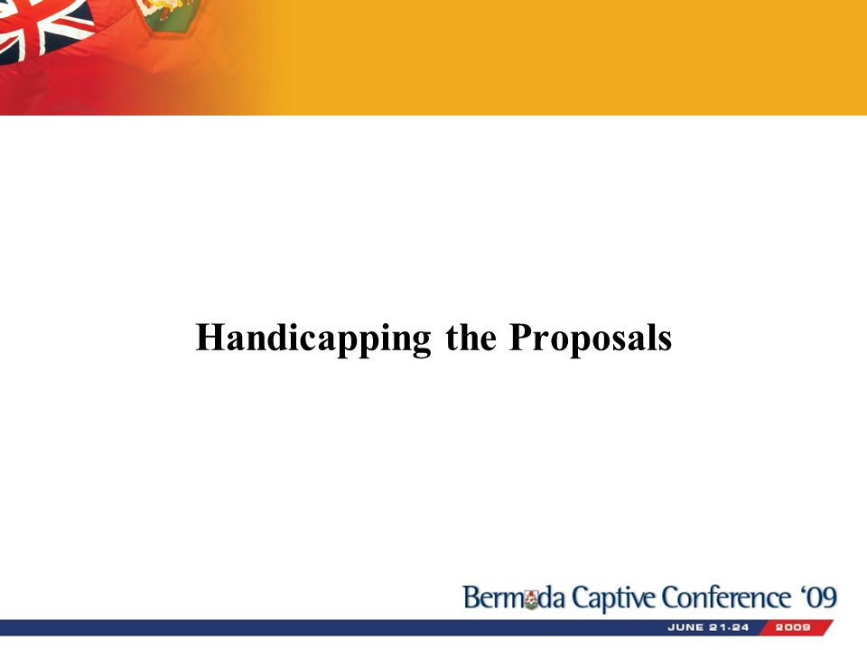 Handicapping the Proposals
