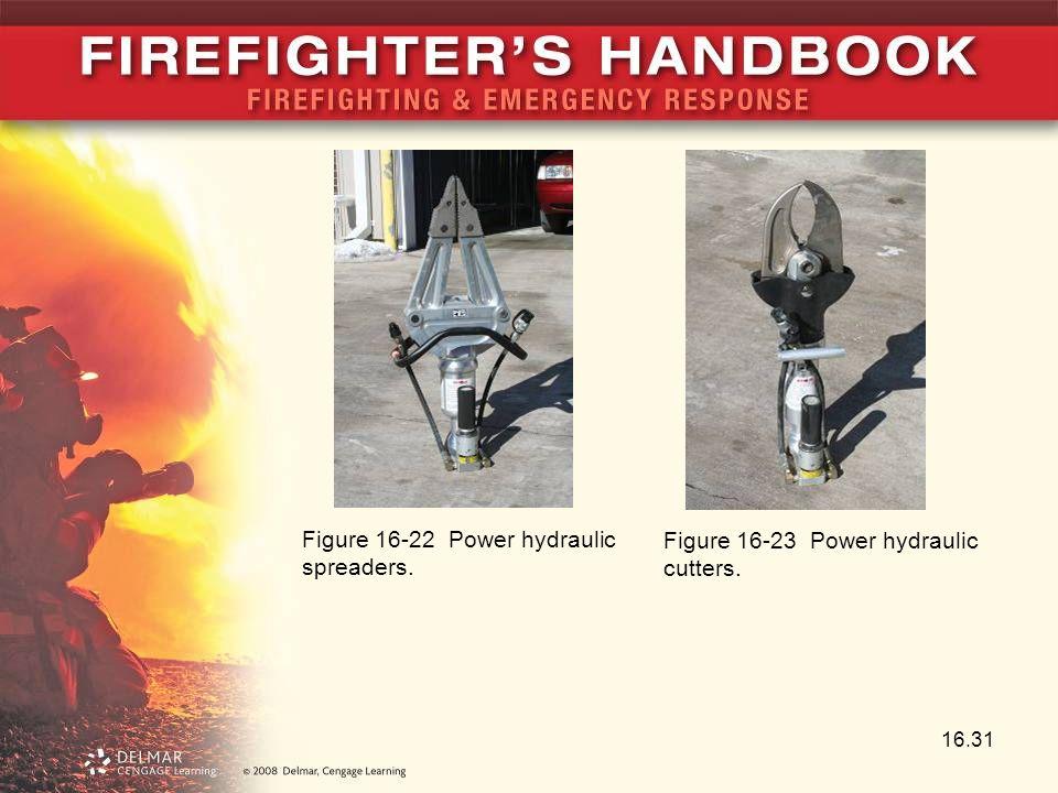 16.31 Figure 16-22 Power hydraulic spreaders. Figure 16-23 Power hydraulic cutters.