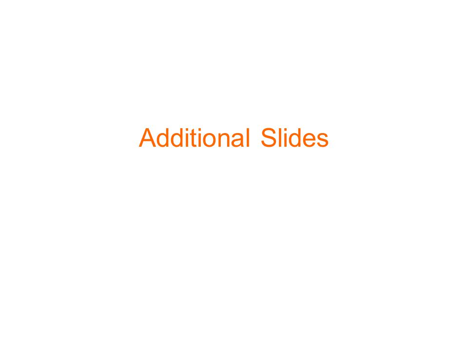 20 Additional Slides
