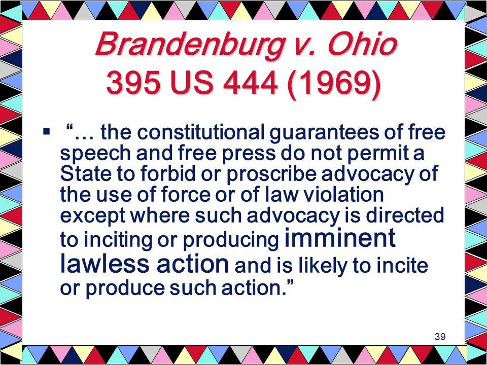 39 Brandenburg v.