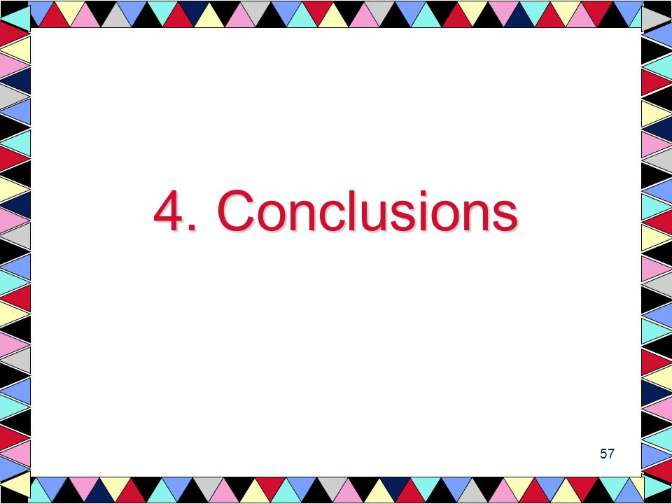 57 4. Conclusions