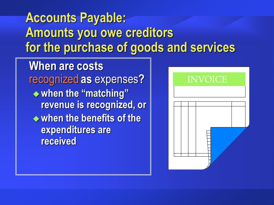 How does receiving a payment in advance affect the accounting equation.