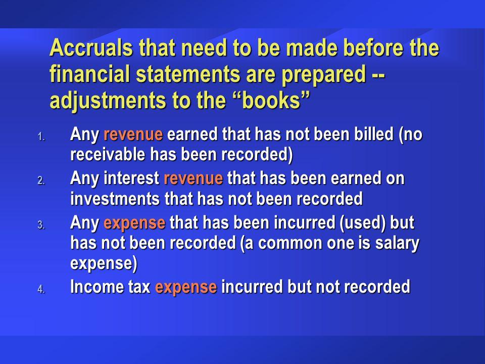 Agenda t Accrued Revenue