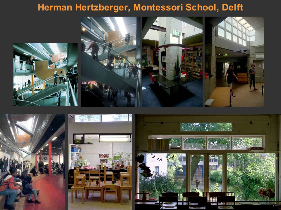 Herman Hertzberger, Montessori School, Delft