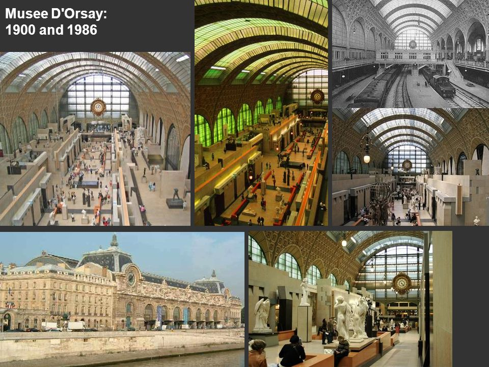 Musee D'Orsay: 1900 and 1986
