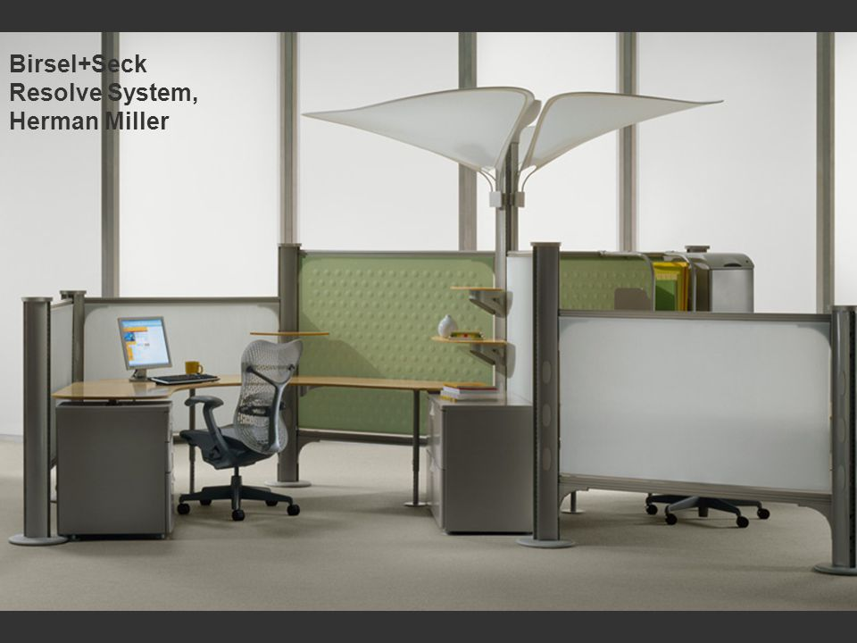 Birsel+Seck Resolve System, Herman Miller
