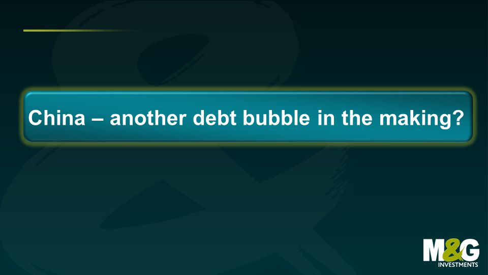 China – another debt bubble in the making?