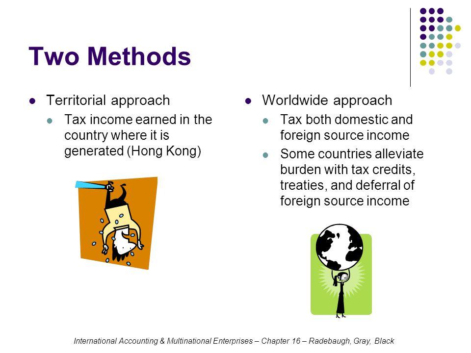 International Accounting & Multinational Enterprises – Chapter 16 – Radebaugh, Gray, Black U.S.